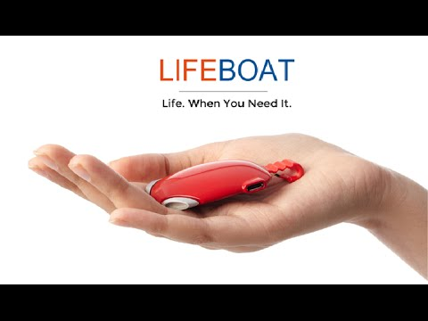 New Invention: Lifeboat Mobile Battery Pack with Panic Button