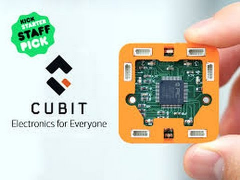 New Invention: Cubit – Making Electronics Accessible