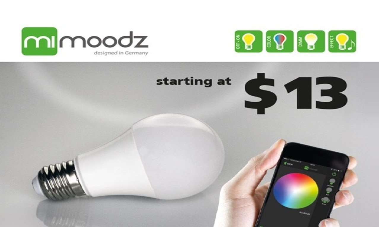 New Invention: SMART LED LIGHT 4.0 – Create moods.