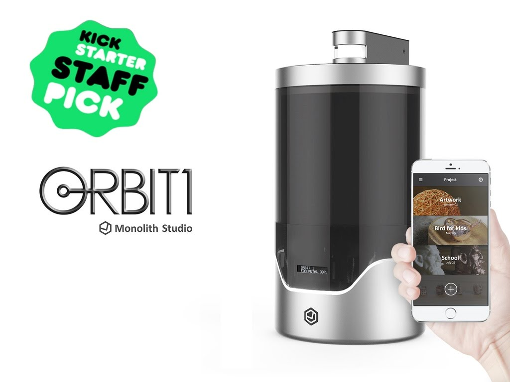New Invention: Orbit1 – A Tabletop Electroplater Turns Your Ideas into Gold