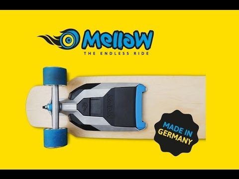 New Invention: Mellow – The Electric Drive that fits under every Skateboard